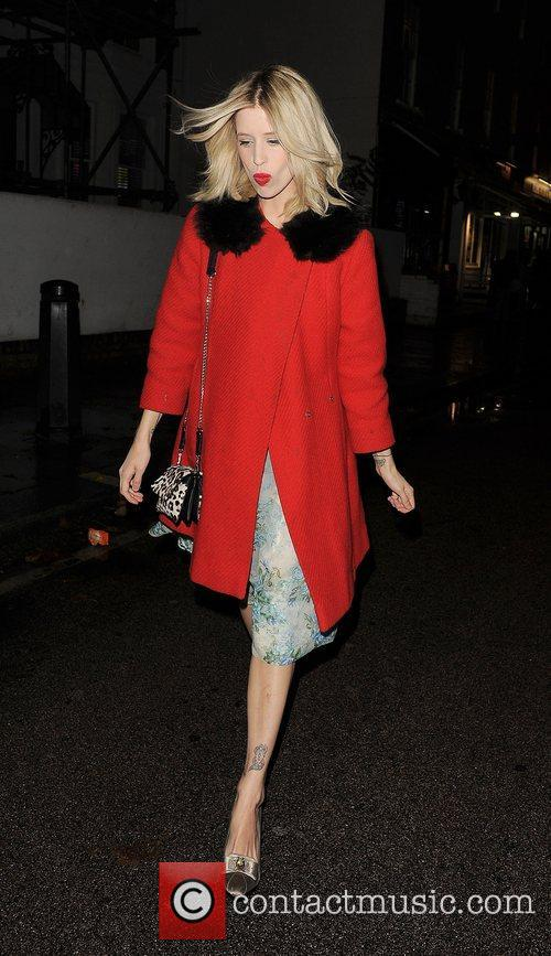 Peaches Geldof out and about in Chelsea. London,...