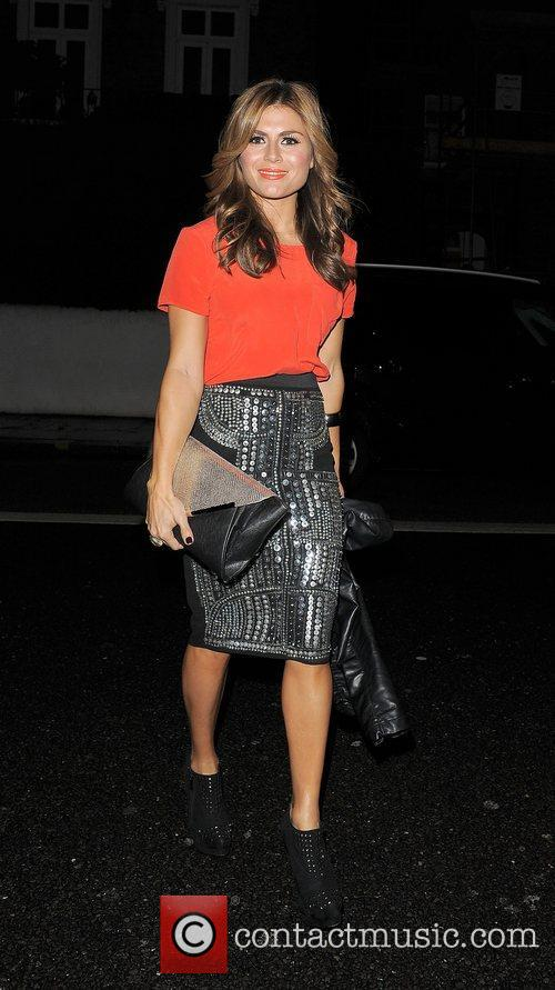 Zoe Hardman out and about in Chelsea.