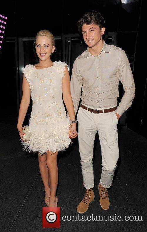 Lydia Rose-Bright and Tom Kilbey out and about...
