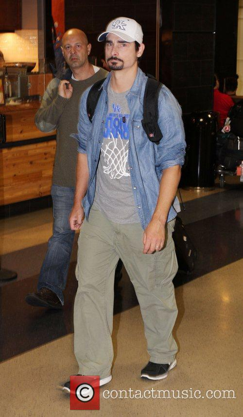 Kevin Richardson at LAX airport Los Angeles, California