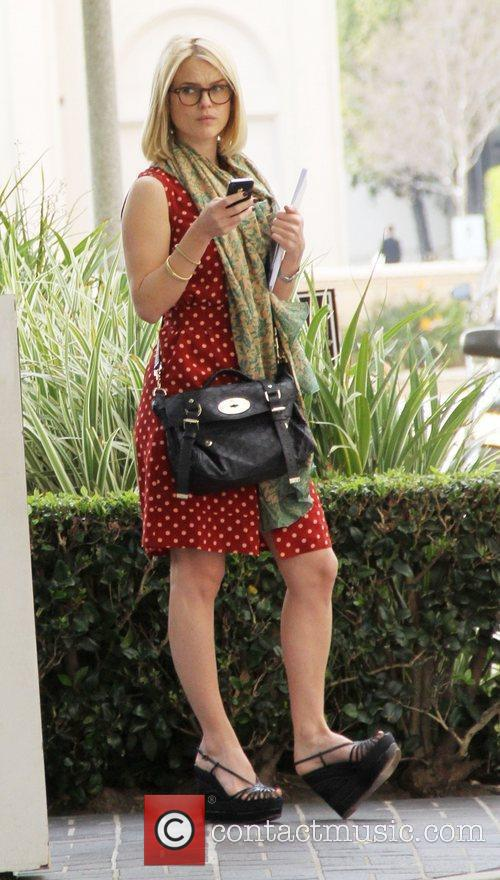 Alice Eve out and about in Beverly Hills...