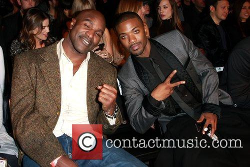 Evander Holyfield and Ray J 2