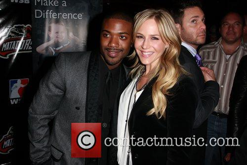 ray j and julie benz celebrities at 5764629