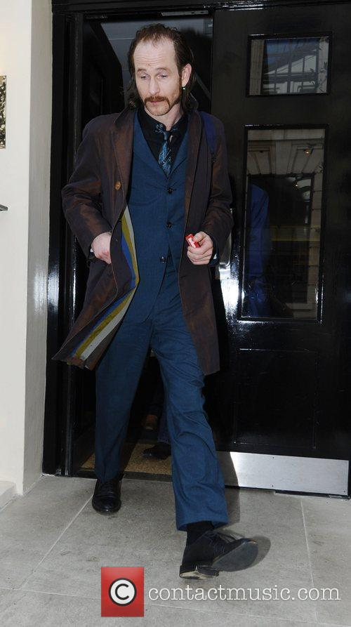 Paul Kaye leaving The Laurence Olivier Awards Luncheon...