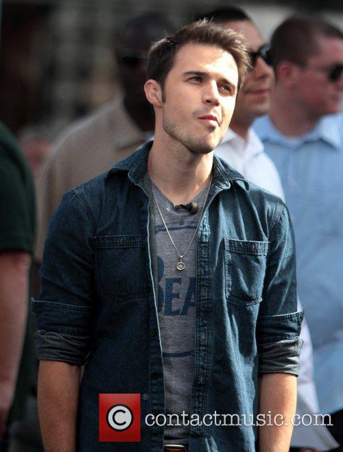 Kris Allen Celebrities at The Grove to appear...