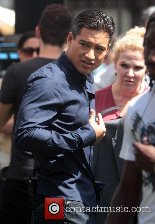 Mario Lopez Celebrities at The Grove to appear...