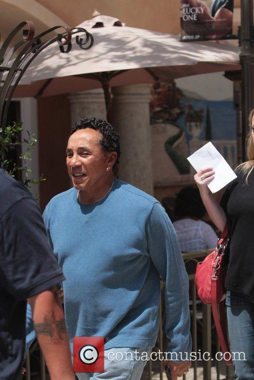 Smokey Robinson Celebrities at The Grove to appear...