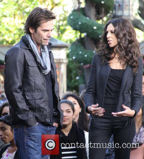 Billy Burke, Terri Seymour and Extra 2