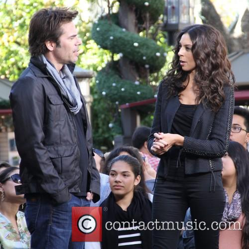 Billy Burke, Terri Seymour and Extra 6