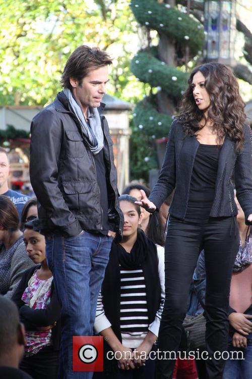 Billy Burke, Terri Seymour and Extra 7