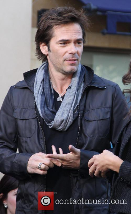 Billy Burke, Terri Seymour and Extra 3