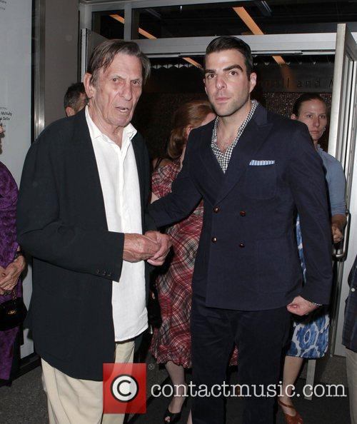Zachary Quinto and Leonard Nimoy 5