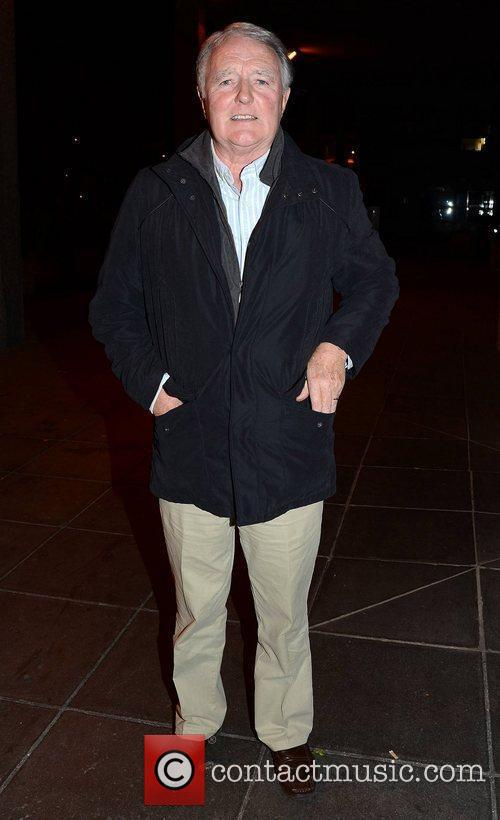 Mike Murphy Celebrities outside the RTE studios for...