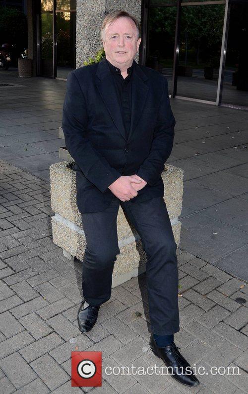 Barry Devlin Celebrities outside the RTE studios for...