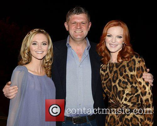 Jayne Wisener, Marcia Cross and Rte Studios 4