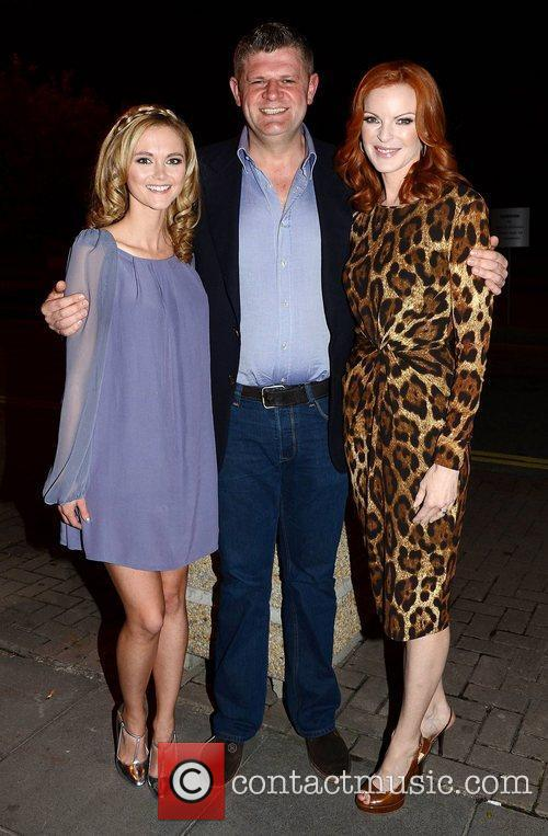Jayne Wisener, Marcia Cross and Rte Studios 1