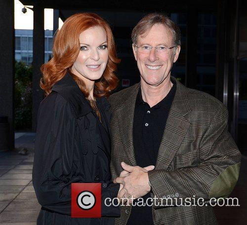 Marcia Cross, Tom Mahoney and Rte Studios 2