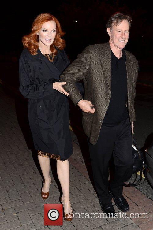 Marcia Cross, Tom Mahoney and Rte Studios 3