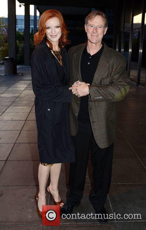 Marcia Cross, Tom Mahoney and Rte Studios 4