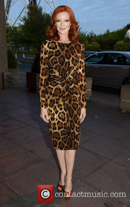 Marcia Cross and Rte Studios 1