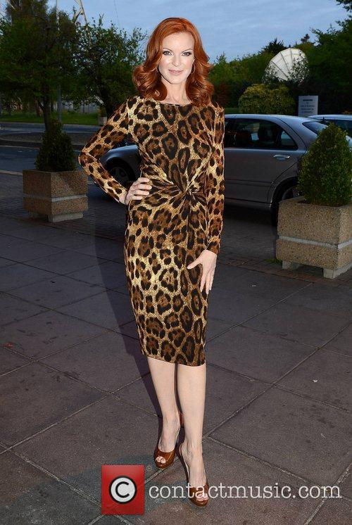 Marcia Cross and Rte Studios 6