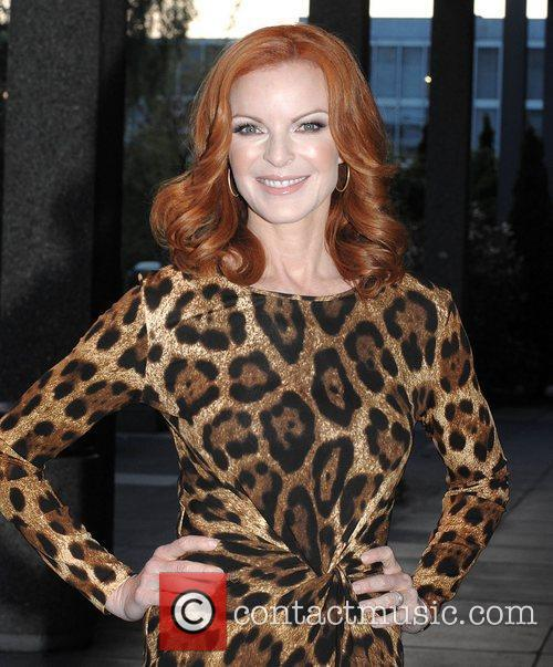 Marcia Cross and Rte Studios 7