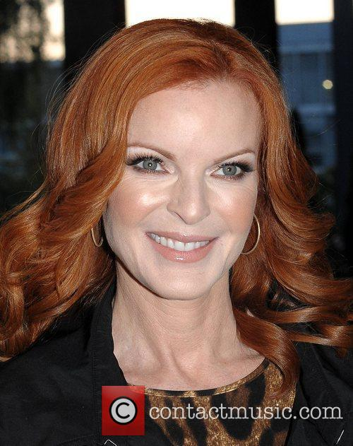 Marcia Cross and Rte Studios 8