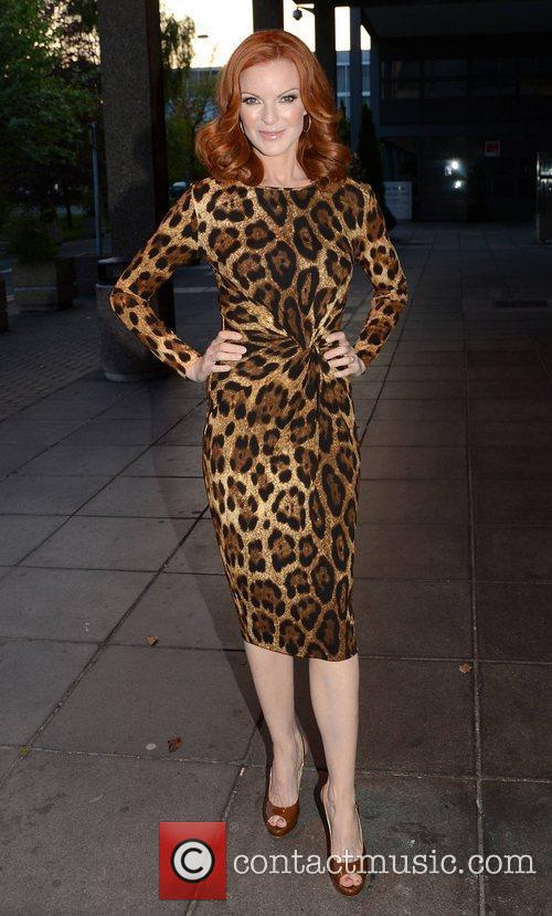 Marcia Cross and Rte Studios 9
