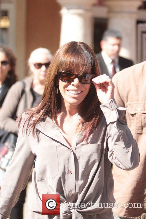 Melissa Rivers makes an appearance on 'Extra' at...