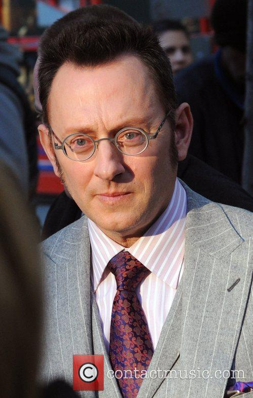 Michael Emerson Celebrities at the set of CBS's...