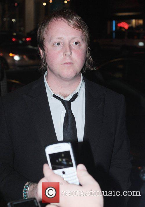 James McCartney leaving The Viper Room after performing...