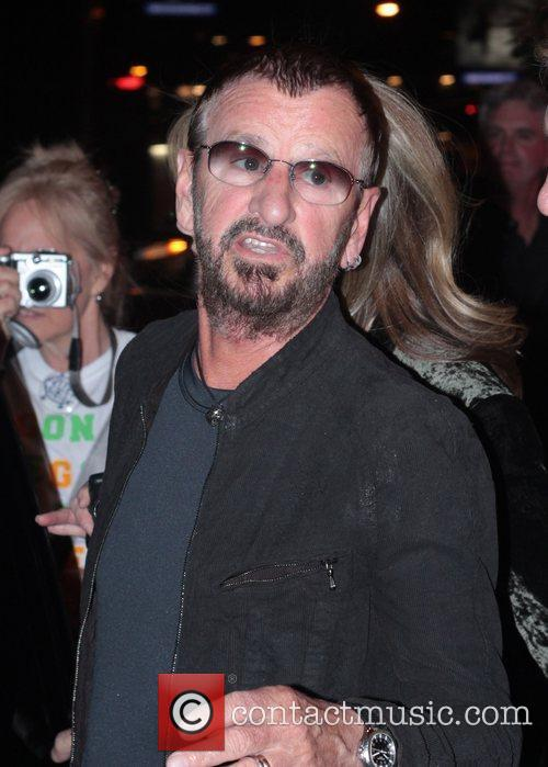 Ringo Starr leaving The Viper Room after a...