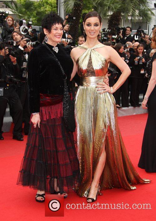 Martine Beswicke and Berenice Marlohe 'Vous N'avez Encore...