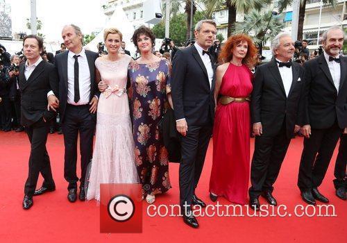 Lambert Wilson, Anne Consigny, Hippolyte Girardot and Cannes Film Festival 2
