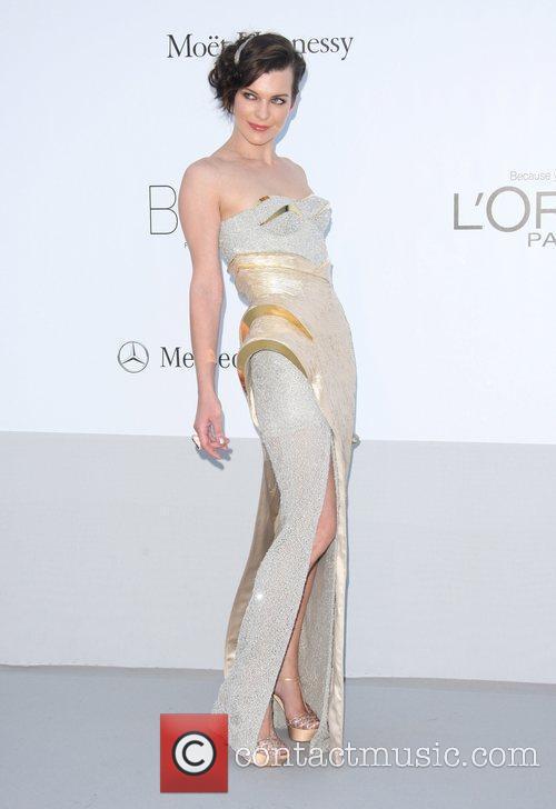 Milla Jovovich and Cannes Film Festival 2