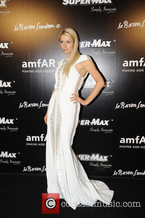 At The AmFar after party at Hotel De...