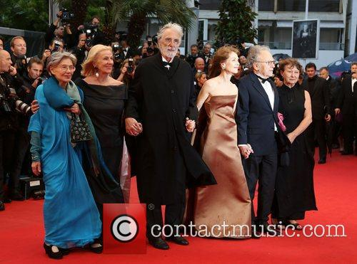 Emmanuelle Riva, Isabelle Huppert, Jean-louis Trintignant, Michael Haneke and Cannes Film Festival 1