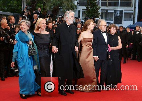 Emmanuelle Riva, Isabelle Huppert, Jean-louis Trintignant, Michael Haneke and Cannes Film Festival 2