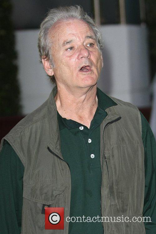 bill murray celebrities are seen arriving at 5842432