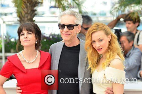 Emily Hampshire, David Cronenberg and Sarah Gadon 'Cosmopolis'...
