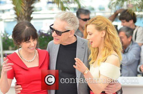Emily Hampshire, David Cronenberg and Sarah Gadon 3
