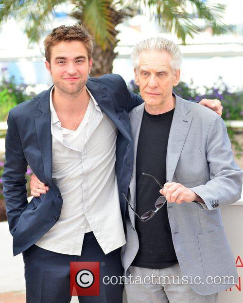 Robert Pattinson and David Cronenberg 2