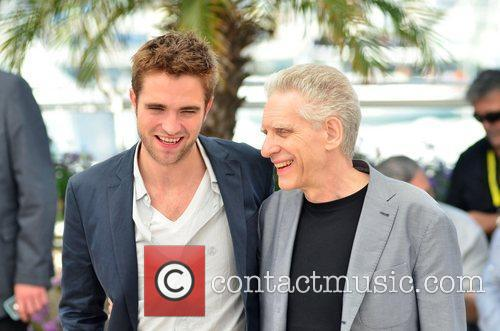 Robert Pattinson and David Cronenberg 3