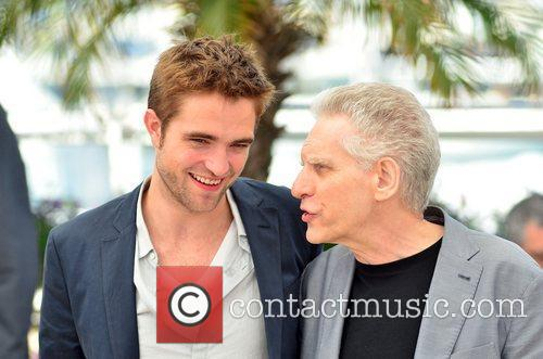 Robert Pattinson and David Cronenberg 4