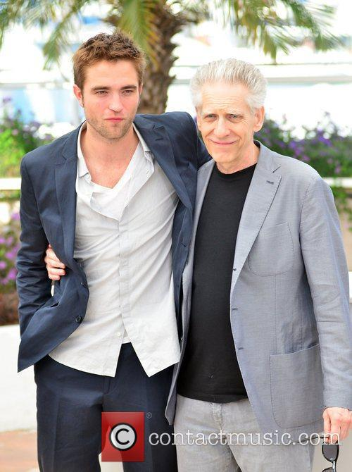 Robert Pattinson and David Cronenberg 5