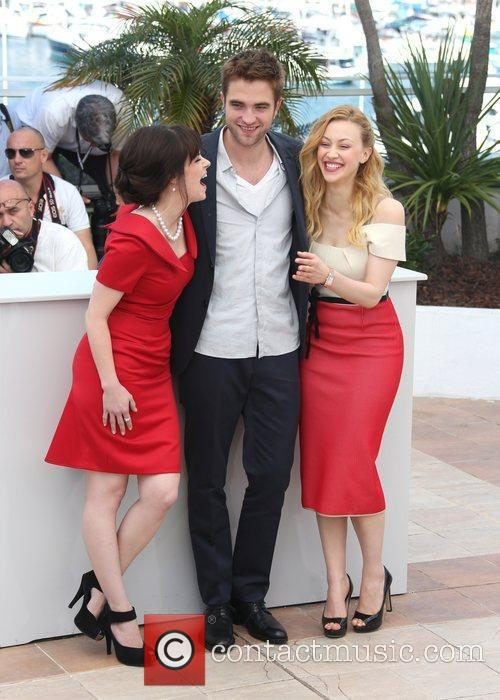 Emily Hampshire, Robert Pattinson, Sarah Gadon 'Cosmopolis' photocall...