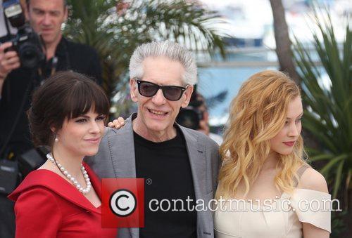 Emily Hampshire, David Cronenberg and Sarah Gadon 1