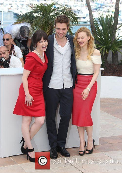 Sarah Gadon, Robert Pattinson and Emily Hampshire 'Cosmopolis'...