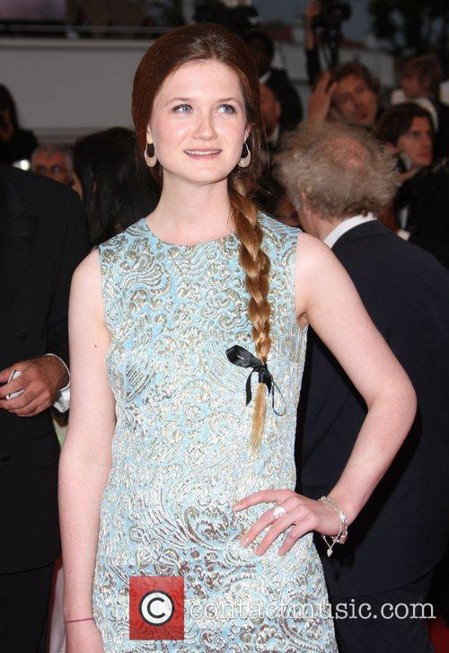 Bonnie Wright 'Cosmopolis' premiere during the 65th annual...