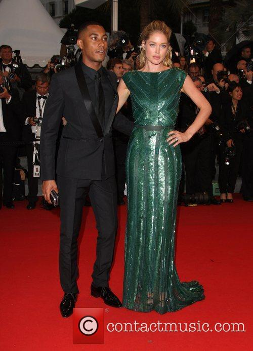 Doutzen Kroes and husband Sunnery James 'Cosmopolis' premiere...